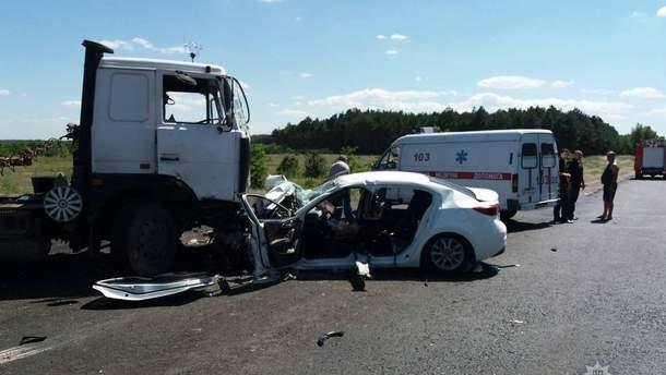 Двоє дітей загинуло внаслідок ДТП на Херсонщині