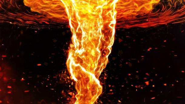 Вогняний вихор (ілюстрація)