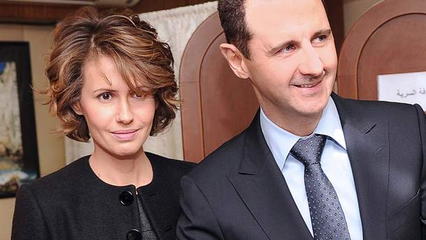 Асма Асад захворіла на рак