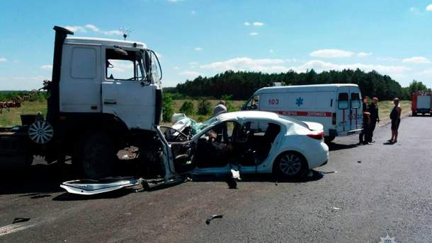 Двое детей погибли в результате ДТП на Херсонщине