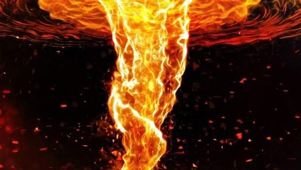 Огненный вихрь (иллюстрация)
