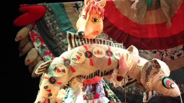 Для діток прифронтової зони зіграють 30 лялькових вистав