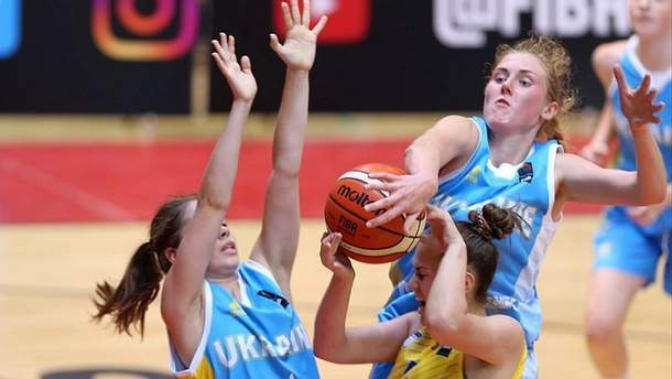 Женская юниорская сборная Украины U-18 победила сверстников из Люксембурга