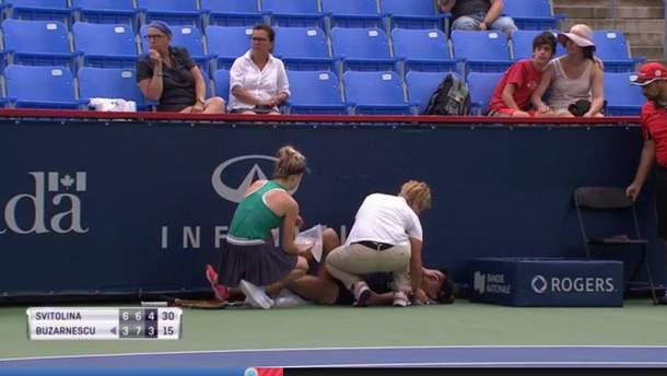 Еліна Світоліна допомогла румунській тенісистці