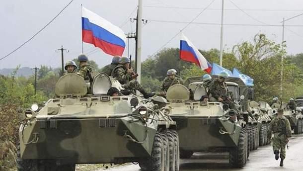 Россия стягивает на оккупированный Донбасс тяжелое вооружение