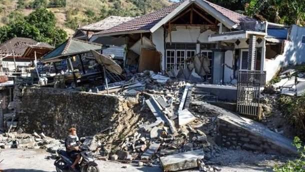 В Індонезії стався ще один землетрус