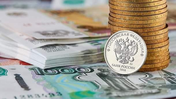 Нові санкції США обвалили курс російського рубля