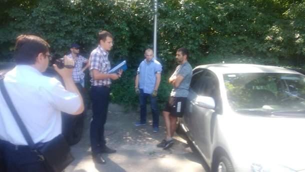 Задержание Алексея Тамразова