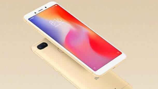 Xiaomi Redmi 6: ціна в Україні