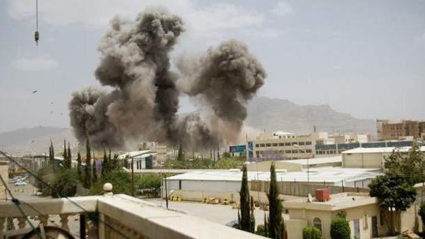 Авиаудар в Йемене