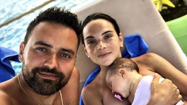 Тімур Мірошниченко на сімейному відпочинку