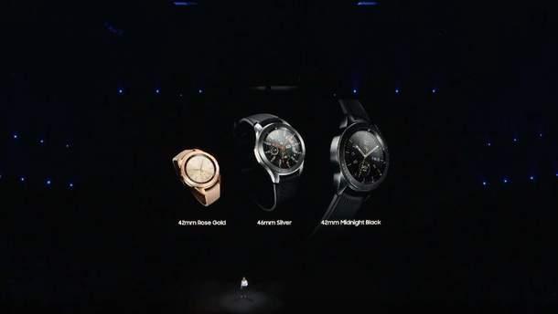 Galaxy Watch представили вместе с Galaxy Note9