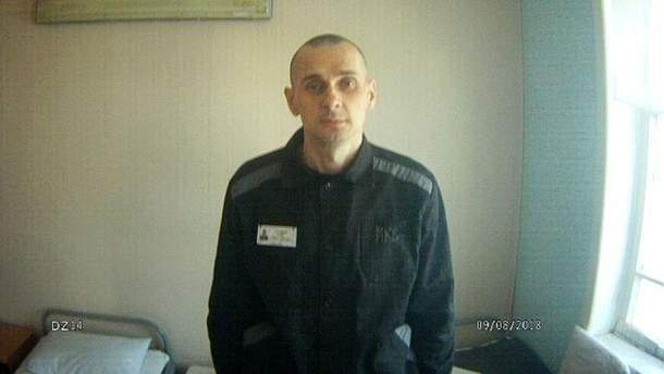 Фото Олега Сенцова після трьох місяців голодування