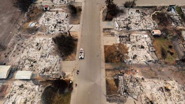 В Калифорнии задержали подозреваемого в поджоге в округе Оранж