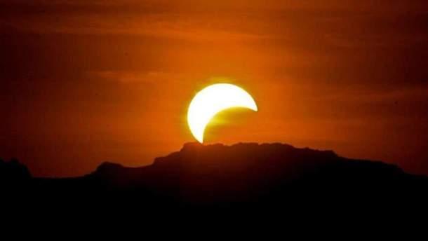 Останнє часткове сонячне затемнення у 2018 році