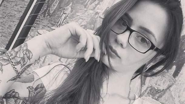 Погибшая 20-летняя Анна Голубенко