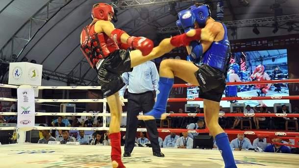 Сборная Украины получила 8 медалей на ЧМ по тайскому боксу
