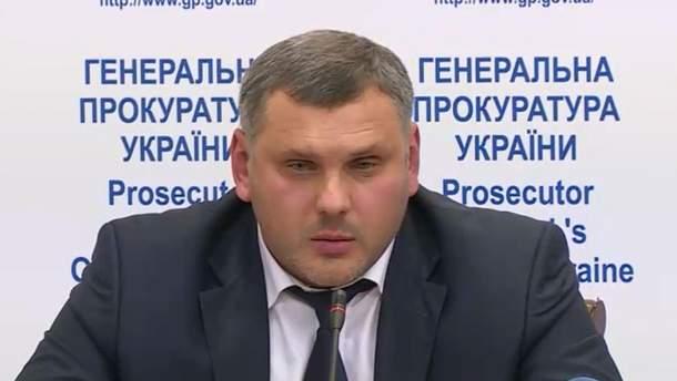 Начальник управління СБУ в Сумській області Владислав Косинський