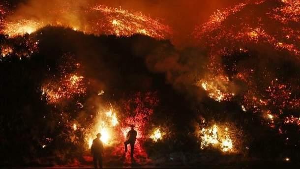 Пожежі у Каліфорнії