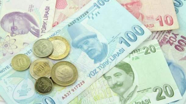 Ердоган закликає турків міняти іноземну валюту на ліри