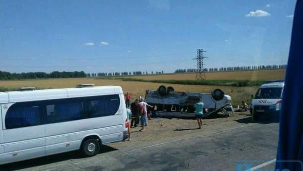 Ужасная авария в Запорожье