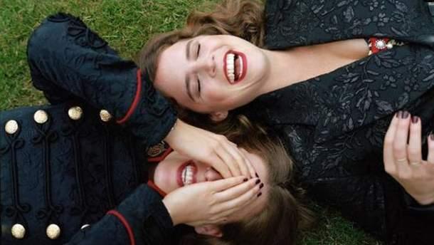 Принцеси Беатрис і Євгенія для Vogue