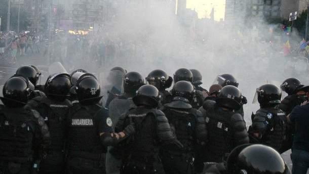 УРумунії пройшли протести, поліція застосувала сльозогінний газ