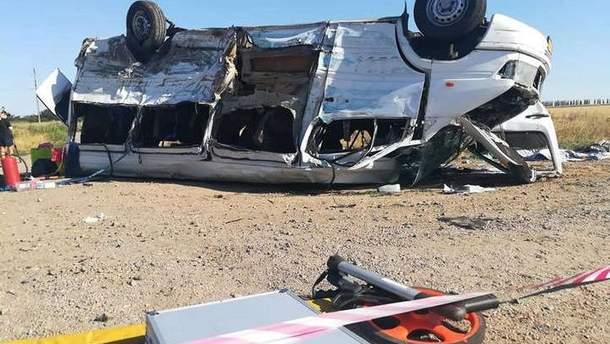 Жахлива ДТП на Запоріжжі: очевидець розповів, як трапилась аварія