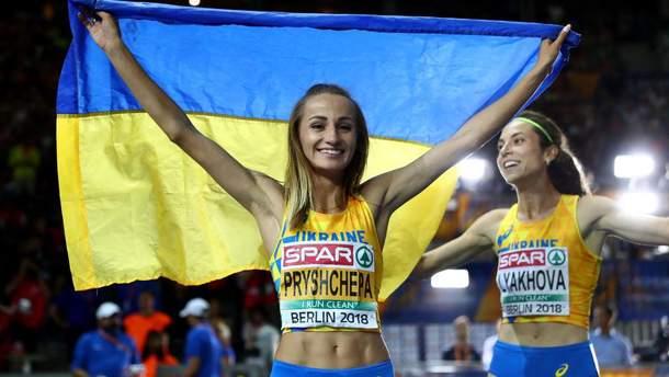 Наталья Прищепа и Ольга Ляхова