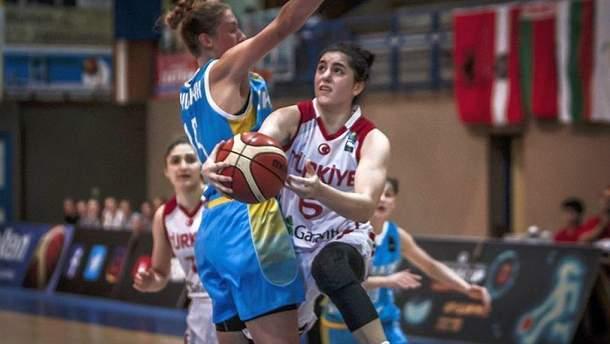 Жіноча юніорська збірна України U-18 програла Туреччині