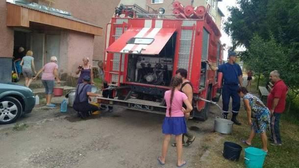 В Свалявском районе почти 300 человек на 2 дня остались без воды