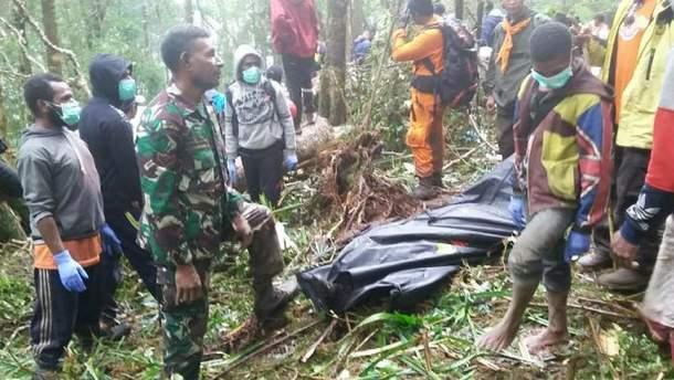 8 человек погибли в результате крушения самолета в Индонезии