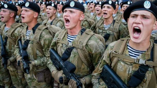 """Приветствие """"Слава Украине""""  важно для военных"""