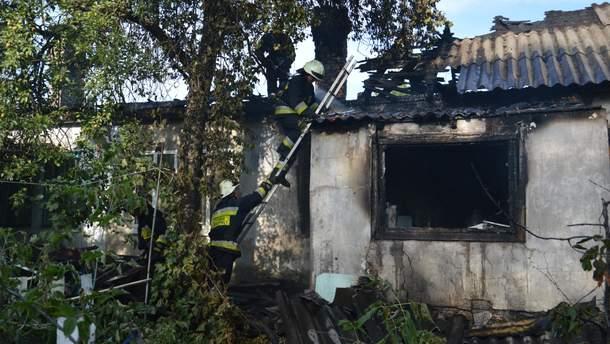 Масштабна пожежа у Дніпрі