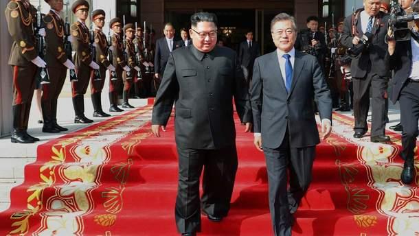 Лидеры КНДР и Южной Кореи готовятся к совместному саммиту