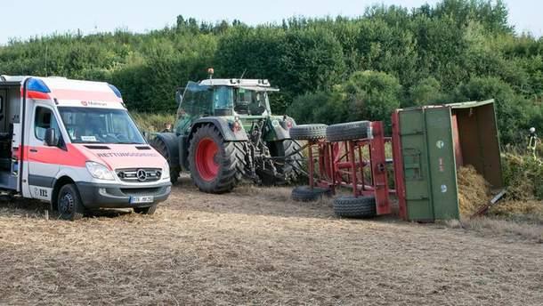 ДТП с экскурсионным трактором в Германии