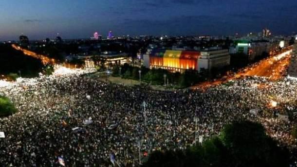 Протести в Румунії