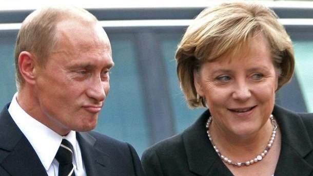 Маркель і Путін