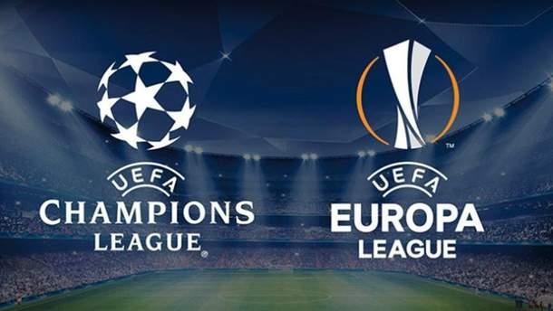 Украинцы могут не увидеть матчей Лиги чемпионов и Лиги Европы по телевидению