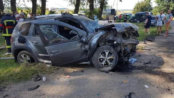 На Тернопольщине произошло смертельное ДТП, пострадали дети