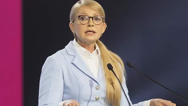 """Сколько партия Тимошенко потратила на """"Новый курс"""""""
