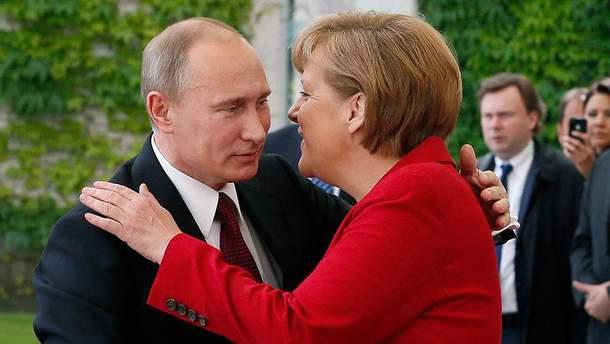 У Путіна підтвердили його плани на візит до Меркель