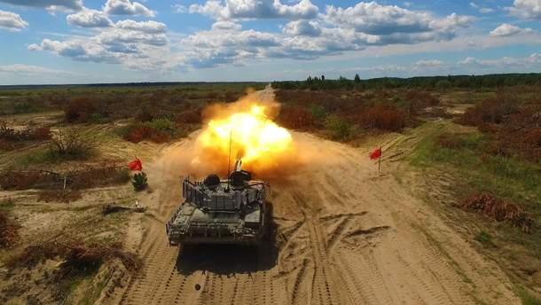 Новый украинский танк проходит огневые испытания
