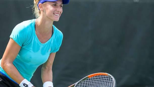 Леся Цуренко стартувала з перемоги на турнірі в Цинциннаті