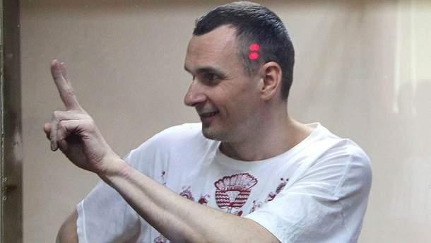 Олег Сенцов голодает уже почти три месяца в российском плену