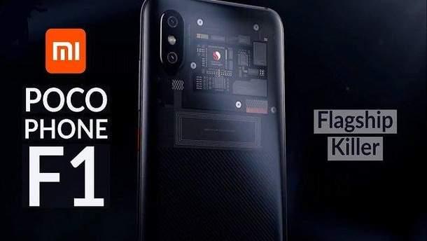 Xiaomi Pocophone F1 обогнал популярный флагман в новом тестировании
