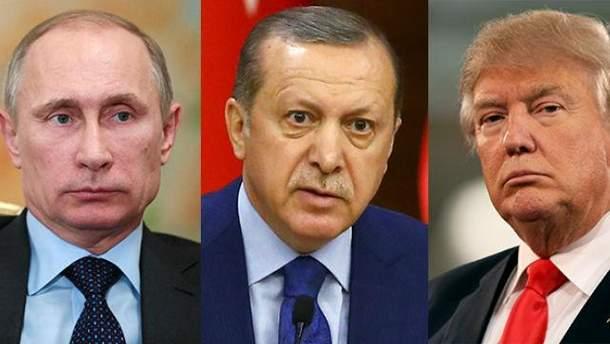 Удар для НАТО та шанс для Росії: західні ЗМІ про конфлікт між США і Туреччиною