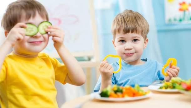 Як змінюється щоденний раціон дитини з віком