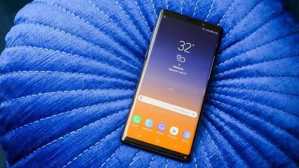 """Скільки заряджається та як довго """"живе"""" Samsung Galaxy Note 9"""