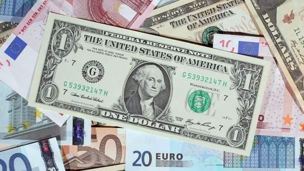 Наличный курс валют 17 августа в Украине